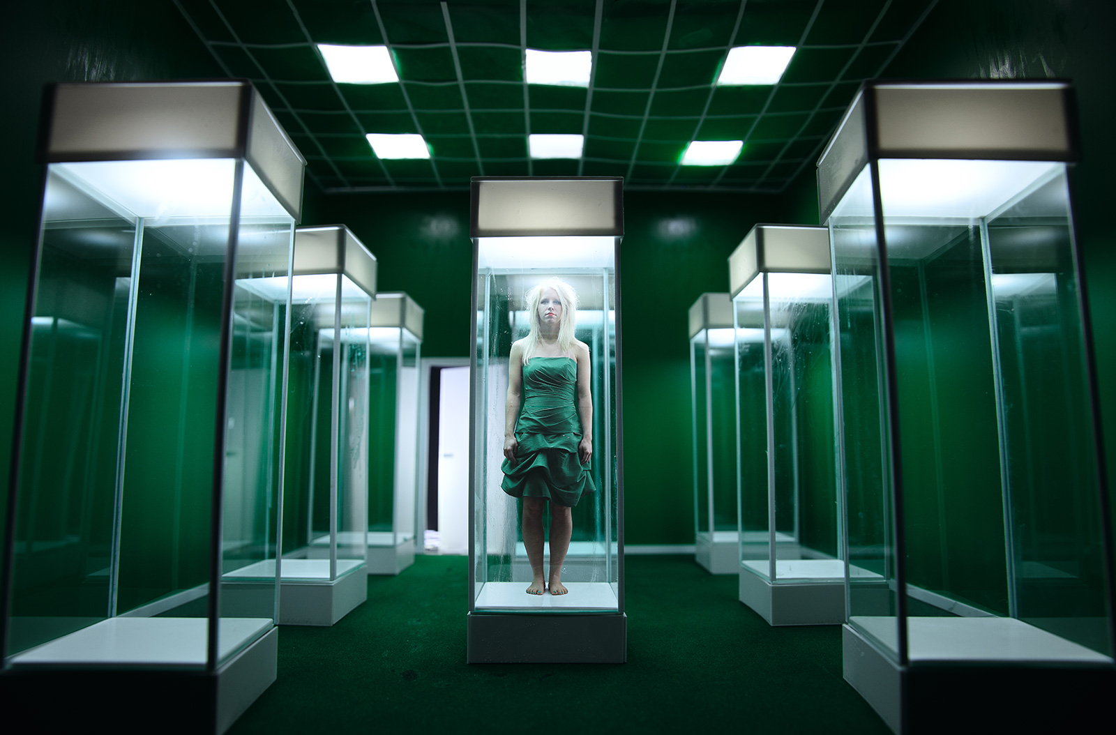 Seb Agnew – Green Cube