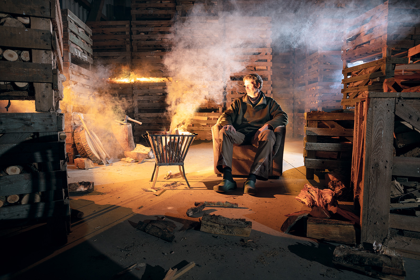 Seb Agnew – Firewood