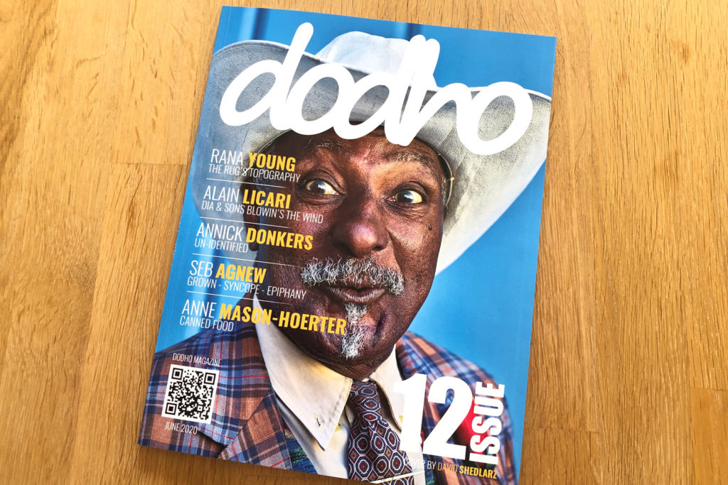 Cover of Dodho Magazine (Issue 12)