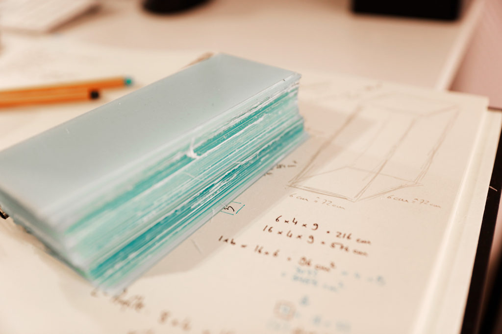 Behind the Scenes of Green Cube: Planning the Glass Cabinets