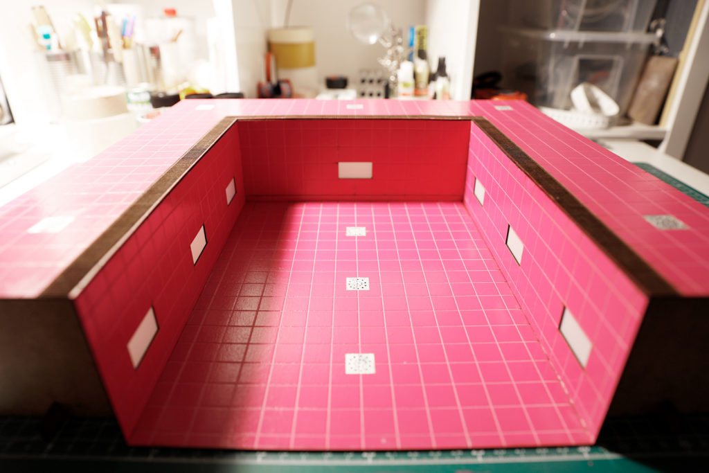 Behind the Scenes of Magenta Cube: The Swimming Pool Slowly Taking Shape