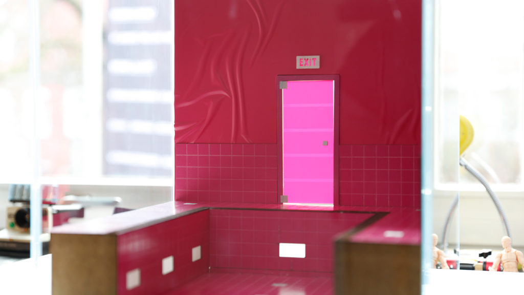 Behind the Scenes of Magenta Cube: Adding the Walls to the Set